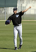 March 28, 2004:  Miguel Negron of the Toronto Blue Jays organization during Spring Training at Dunedin Stadium in Dunedin, FL.  Photo by:  Mike Janes/Four Seam Images