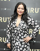 NEW YORK, NY - APRIL 10: Shivani Rawat attends the 'Beirut' New York Screening at The Robin Williams  Center on April 10, 2018 in New York City. <br /> CAP/MPI/JP<br /> &copy;JP/MPI/Capital Pictures