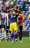 Pictured: (L-R) Ben Davies, Jonathan de Guzman.<br />