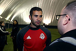 08 December 2016: Toronto's Steven Beitashour (IRN). Toronto FC held a training session at the Kia Training Ground in Toronto, Ontario in Canada two days before playing in MLS Cup 2016.