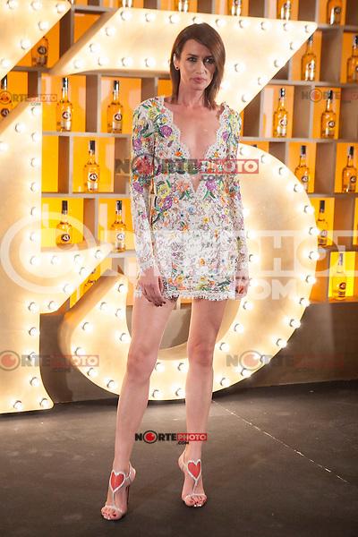 Spanish model Nieves Alvarez poses during Licor 43 presentation in Madrid, Spain. January 29, 2015. (ALTERPHOTOS/Victor Blanco) /nortephoto.com<br /> nortephoto.com