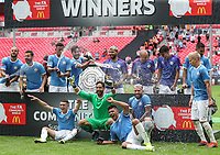 Manchester City are winners of the FA Community Shield match between Liverpool and Manchester City at Wembley Stadium on August 4th 2019 in London, England. (Photo by John Rainford/phcimages.com)<br /> Foto PHC/Insidefoto <br /> ITALY ONLY