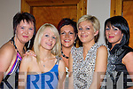 Marthas beauty salon, Killorglin girls l-r: Alice Collins, Joanne O'Shea, Martha Fleming, Linda Griffin and Maria O'Shea Killorglin enjoying their Christmas party in Darby O'Gills, Killarney on Saturday night   Copyright Kerry's Eye 2008