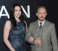 NEW YORK, NY - OCTOBER 4: Laura Prepon and Ben Foster at 'The Girl On The Train' Premiere at Regal E-Walk on October 4, 2016 in New York City. Credit: John Palmer/MediaPunch