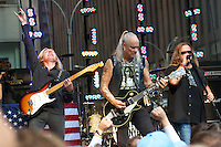 NEW YORK, NY - AUGUST 17: Lynyrd Skynyrd perform on the Fox &amp; Friends Summer Concert Series in New York City. &copy;&nbsp;mpi44/MediaPunch Inc. /NortePhoto.com<br />