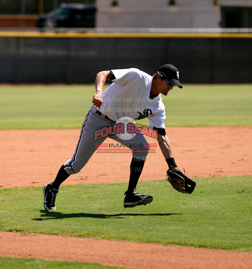 Lee Fischer / Chicago White Sox 2008 Instructional League..Photo by:  Bill Mitchell/Four Seam Images