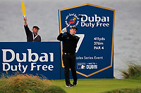 Robert MacIntyre (SCO) on the 7th tee during Round 2 of the Irish Open at LaHinch Golf Club, LaHinch, Co. Clare on Friday 5th July 2019.<br /> Picture:  Thos Caffrey / Golffile<br /> <br /> All photos usage must carry mandatory copyright credit (© Golffile | Thos Caffrey)