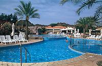 Vereinigte arabische Emirate (VAE, UAE), Dubai, Hatta Fort Hotel, Pool