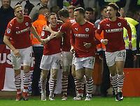 Barnsley v Leeds..EFL Championship 21.1.17 .... barnsley ryan kent celebrates