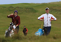 On the 18th during the Munster Semi-Finals of the AIG Barton Shield at Tralee Golf Club, Tralee, Co Kerry. 12/08/2017<br /> Picture: Golffile | Thos Caffrey<br /> <br /> <br /> All photo usage must carry mandatory copyright credit     (&copy; Golffile | Thos Caffrey)