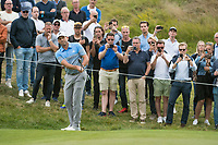 Sergio Garcia (ESP) in action on the 17th hole during the final round at the KLM Open, The International, Amsterdam, Badhoevedorp, Netherlands. 15/09/19.<br /> Picture Stefano Di Maria / Golffile.ie<br /> <br /> All photo usage must carry mandatory copyright credit (© Golffile | Stefano Di Maria)