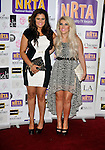 Lucy Texeira and Charley Bird aka 2 Shoes   at the National Reality Television Awards 2012 held at the Porcester Hall . London, England - 30.08.12 Picture By: Brian Jordan / Retna Pictures.. ..-..