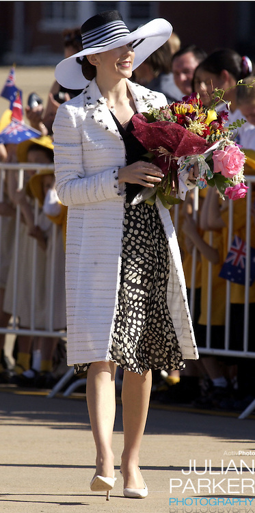 Crown Prince Frederik & Crown Princess Mary of Denmark visit University Hall at the Australian National University in Canberra, during their 2-week visit to Australia..
