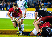 Greig Laidlaw in action during the 2017 DHL Lions Series rugby union match between the NZ Provincial Barbarians and British & Irish Lions at Toll Stadium in Whangarei, New Zealand on Saturday, 3 June 2017. Photo: Dave Lintott / lintottphoto.co.nz
