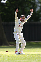 Bhav of Barking appeals during Barking CC (fielding) vs Redbridge CC, Essex County League Cricket at Mayesbrook Park on 25th May 2019