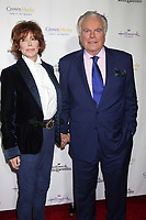 ***FILE PHOTO*** ***Robert Wagner Deemed A Person Of Interest In The Death Of Natalie Wood***LOS ANGELES, CA - NOVEMBER 4: Jill St. John, Robert Wagner at the Hallmark Channel's Northpole Screening Reception at La Piazza Restaurant in Los Angeles, CA on November 4, 2014. <br /> CAP/MPI/DE<br /> &copy;DE/MPI/Capital Pictures