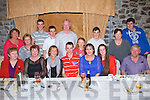 Pictured at the 18th birthday of Eamon Lacey, Asdee in the Horse Shoe Bar in Listowel on Saturday night.  Eamon is seated fourth from left in front with friends and family.