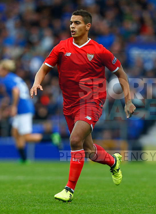 Sevilla's Wissam Ben Yedder during the pre season friendly match at Goodison Park Stadium, Liverpool. Picture date 6th August 2017. Picture credit should read: Paul Thomas/Sportimage