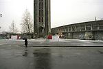 Lo stadio comunale prima dei lavori di costruzione  in vista delle olimpiadi invernali 2006 a Torino. ..The old stadium before the building works  for the olympic games 2006 in Turin. September 2003...Ph. Marco Saroldi/Pho-to.it