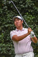 Byeong Hun An (KOR) watches his tee shot on 3 during round 3 of the World Golf Championships, Mexico, Club De Golf Chapultepec, Mexico City, Mexico. 2/23/2019.<br /> Picture: Golffile | Ken Murray<br /> <br /> <br /> All photo usage must carry mandatory copyright credit (© Golffile | Ken Murray)