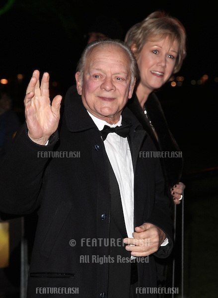David Jason arriving for The Sun Military Awards, at The Imperial War Museum, London. 06/12/2012 Picture by: Alexandra Glen / Featureflash