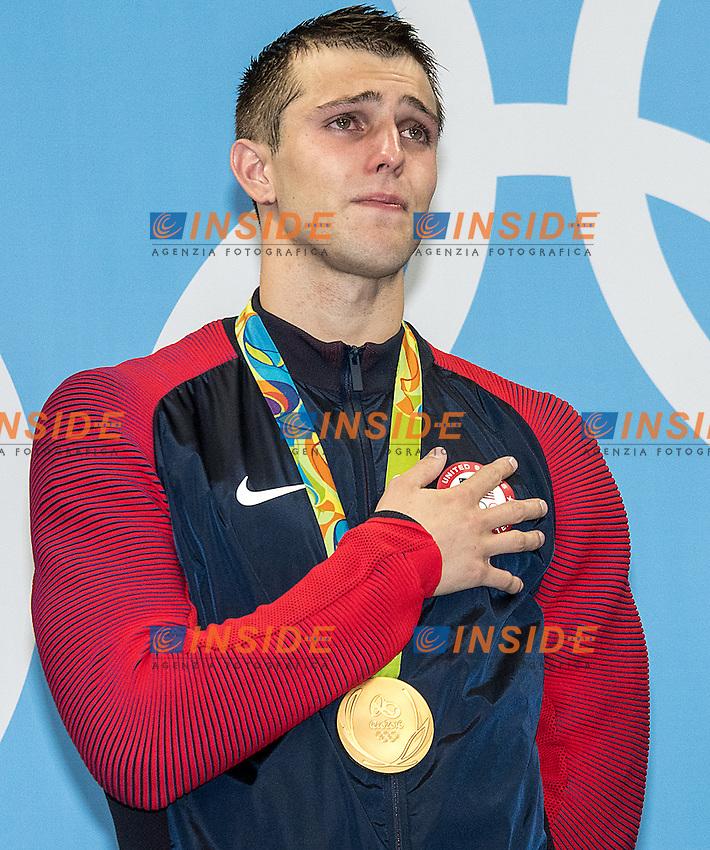 Team USA Held Ryan <br /> 4x100 freestyle men<br /> Rio de JaneiroXXXI Olympic Games <br /> Olympic Aquatics Stadium <br /> Swimming finals 07/08/2016<br /> Photo Giorgio Scala/Deepbluemedia/Insidefoto