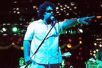 The funk band Brownout performs Brown Sabbath at Brooklyn Bowl in Williamsburg, Brooklyn, New York on September 5th, 2014.