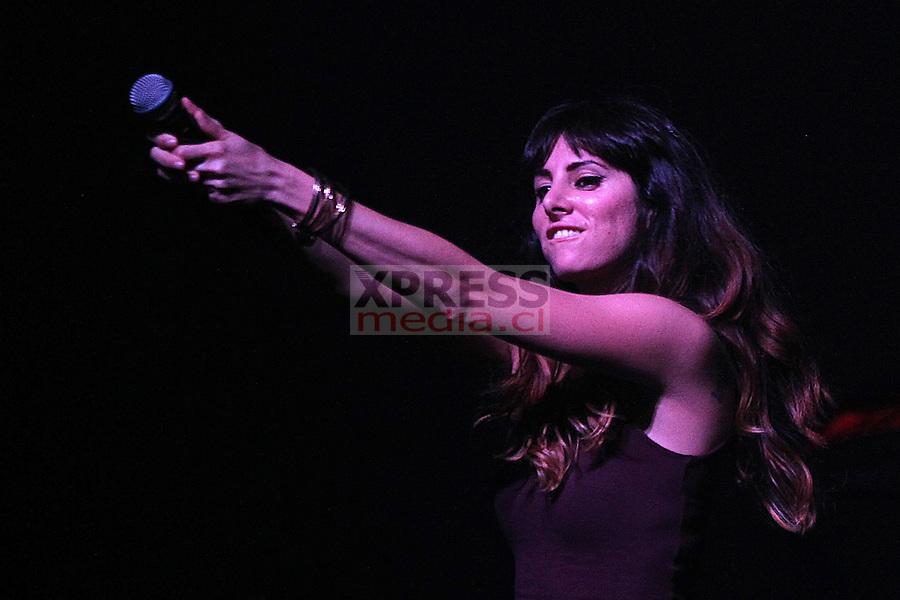 Mala Rodriguez se presenta en FiiS (Festival Internacional de Innovación Social) que se realizó en Teatro Caupolicán.