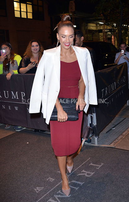 WWW.ACEPIXS.COM<br /> <br /> September 15 2015, New York City<br /> <br /> Jessica Alba out in Soho on September 15 2015 in New York City<br /> <br /> By Line: Curtis Means/ACE Pictures<br /> <br /> <br /> ACE Pictures, Inc.<br /> tel: 646 769 0430<br /> Email: info@acepixs.com<br /> www.acepixs.com