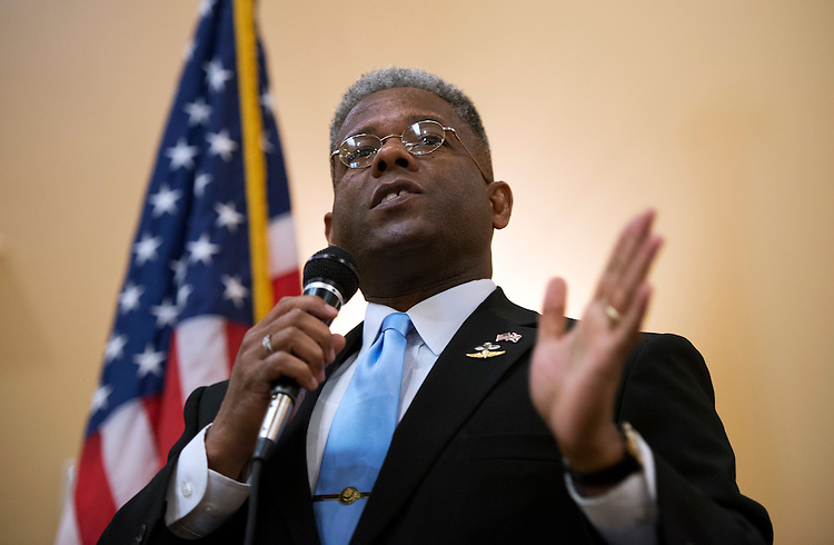 UNITED STATES - AUGUST 23:  Rep. Allen West, R-Fla., of Florida's 18th District, speaks to a meeting of the Independent Insurance Agents of Palm Beach County, in West Palm Beach, Fla.  West is running against democrat Patrick Murphy.  (Photo By Tom Williams/CQ Roll Call)