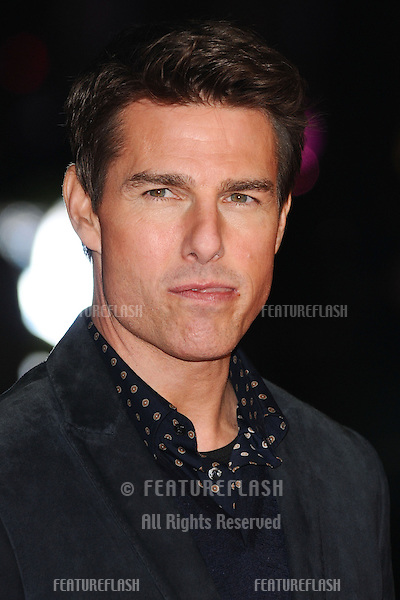 """Tom Cruise arrives for the """"Jack Reacher"""" premiere at the Odeon Leicester Square, London. 10/12/2012 Picture by: Steve Vas / Featureflash"""