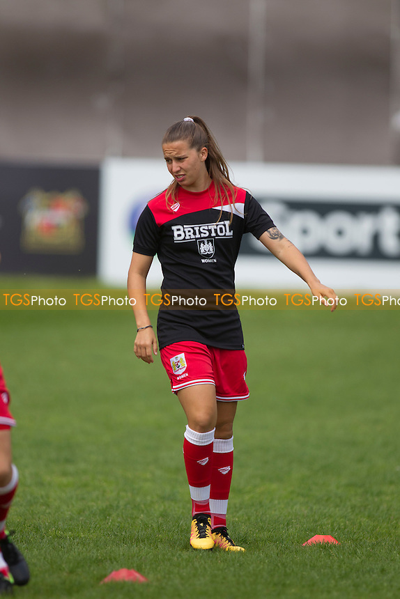 during Sheffield FC Ladies vs Bristol City Women, FA Women's Super League FA WSL2 Football at the Coach and Horses Ground on 22nd May 2016