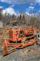 Abandoned Heavy Equipment