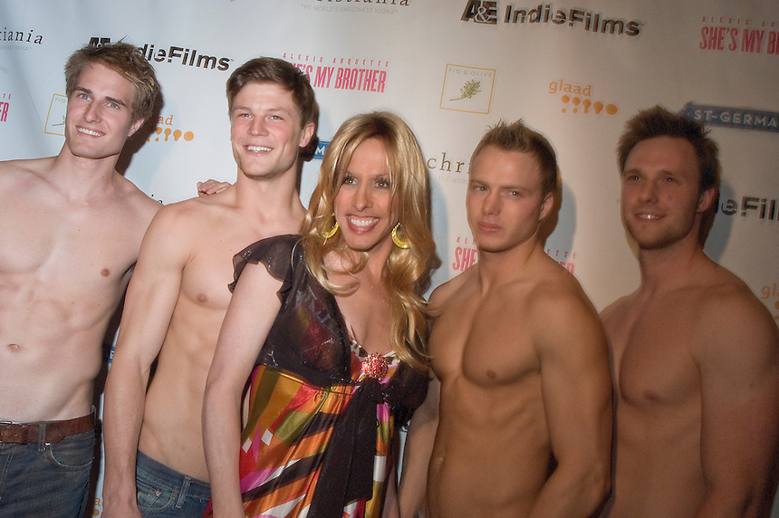 "Alexis Arquette at the film premiere party for ""She's My Brother"", 2007"