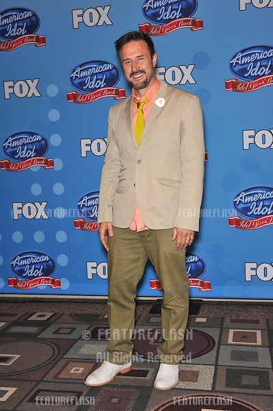"David Arquette at American Idol's ""Idol Gives Back"" event at Pasadena Civic Auditorium..April 21, 2010  Los Angeles, CA.Picture: Paul Smith / Featureflash"