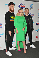 Clean Bandit (Jack Patterson, Grace Chatto and Luke Patterson) at the Capital FM Summertime Ball 2018, Wembley Stadium, Wembley Park, London, England, UK, on Saturday 09 June 2018.<br /> CAP/CAN<br /> &copy;CAN/Capital Pictures