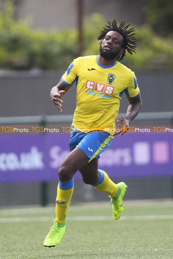 Chidubem Onokwai of Haringey during Haringey Borough vs Corinthian Casuals, BetVictor League Premier Division Football at Coles Park Stadium on 10th August 2019
