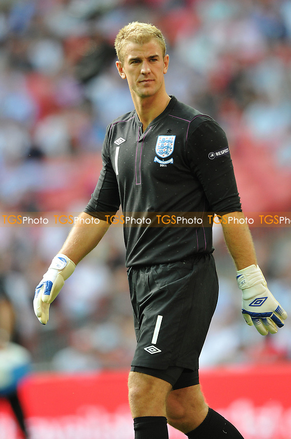 Joe Hart of England-England v Switzerland Euro 2012 Group G Qualifier Wembley Stadium London England 4th June 2011- MANDATORY CREDIT: MARTIN DALTON-TGSPHOTO - Self billing applies where appropriate - 0845 094 6026 - contact@tgsphoto.co.uk - NO UNPAID USE.