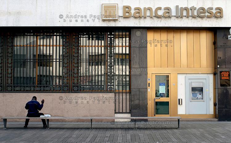Brescia, uffici Banca Intesa.