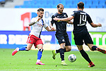 v.l. Tim Leibold (HSV) Dennis Diekmeier, Tim Kister<br />Hamburg, 28.06.2020, Fussball 2. Bundesliga, Hamburger SV - SV Sandhausen<br />Foto: Tim Groothuis/Witters/Pool//via nordphoto<br /> DFL REGULATIONS PROHIBIT ANY USE OF PHOTOGRAPHS AS IMAGE SEQUENCES AND OR QUASI VIDEO<br />EDITORIAL USE ONLY<br />NATIONAL AND INTERNATIONAL NEWS AGENCIES OUT