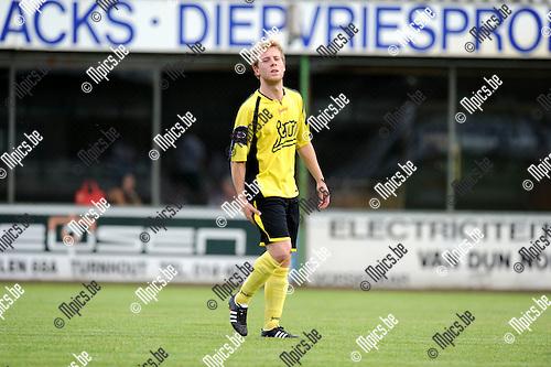 2012-08-09 / Voetbal / seizoen 2012-2013 / KFC Lille / Jonas de Cnaep..Foto: Mpics.be
