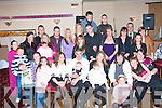 Christening: Jade Hennessy and John Beer (seated 2nd & 3rd left) celebrated the Christening of their new baby Lexi in the Kerins O'Rahillys GAA clubhouse, Strand Rd., Tralee last Saturday evening in the company of many family and friends.
