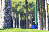 Adrian Otaegui (ESP) on the 3rd hole during Saturday's Round 3 of the 2018 Turkish Airlines Open hosted by Regnum Carya Golf &amp; Spa Resort, Antalya, Turkey. 3rd November 2018.<br /> Picture: Eoin Clarke | Golffile<br /> <br /> <br /> All photos usage must carry mandatory copyright credit (&copy; Golffile | Eoin Clarke)
