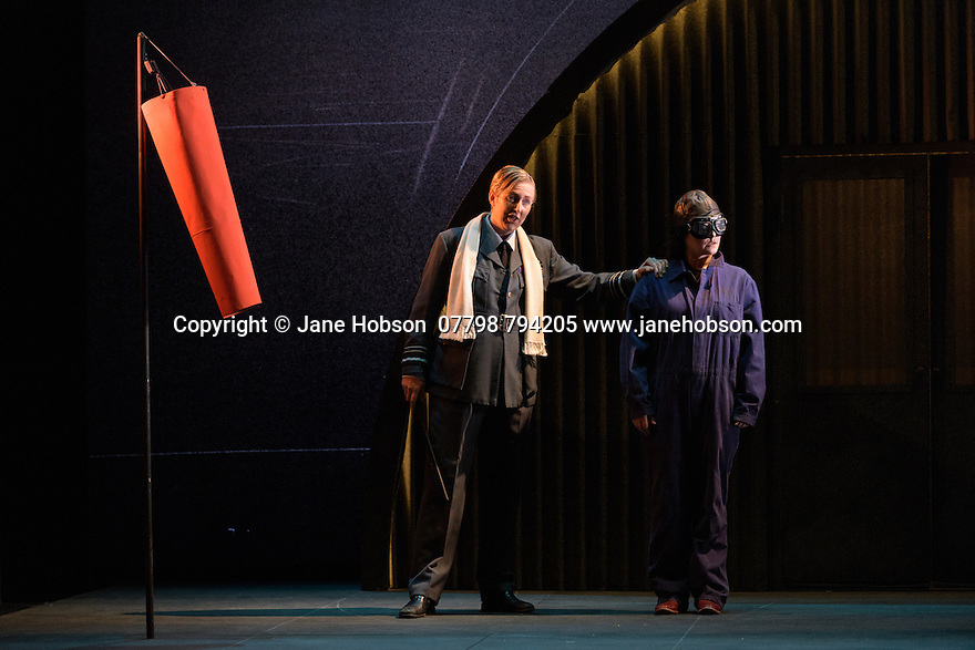 English Touring Opera presents XERXES, by George Frideric Handel, at the Hackney Empire, prior to setting off on a UK tour. Picture shows: Julia Riley (Xerxes), Carolyn Dobbin (Armastris)