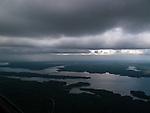May 13, 2009. Sanford, NC..Aerial photos of Jordan Lake.