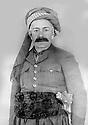 "Iraq 1952?.Sheikh Mahmoud Barzinji, former ""king"" of Kurdistan, in Bagdhdad  .Irak 1952? .Sheikh Mahmoud Barzinji, l'ex-""roi"" du Kurdistan, a Baghdad"
