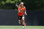 16 May 2015: Princeton's Liz Bannantine. The Duke University Blue Devils hosted the Princeton University Tigers at Koskinen Stadium in Durham, North Carolina in a 2015 NCAA Division I Women's Lacrosse Tournament quarterfinal match. Duke won the game 7-3.