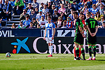 Javier Eraso of CD Leganes during La Liga match between CD Leganes and Real Betis Balompie at Butarque Stadium in Leganes, Spain. February 16, 2020. (ALTERPHOTOS/A. Perez Meca)