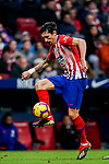 Stefan Savic of Atletico de Madrid in action during the La Liga 2018-19 match between Atletico de Madrid and RCD Espanyol at Wanda Metropolitano on December 22 2018 in Madrid, Spain. Photo by Diego Souto / Power Sport Images