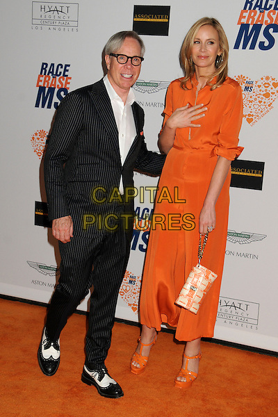 02 May 2014 - Century City, California - Tommy Hilfiger, Dee Ocleppo. 21st Annual Race to Erase MS Gala held at the Hyatt Regency Century Plaza.  <br /> CAP/ADM/BP<br /> &copy;Byron Purvis/AdMedia/Capital Pictures